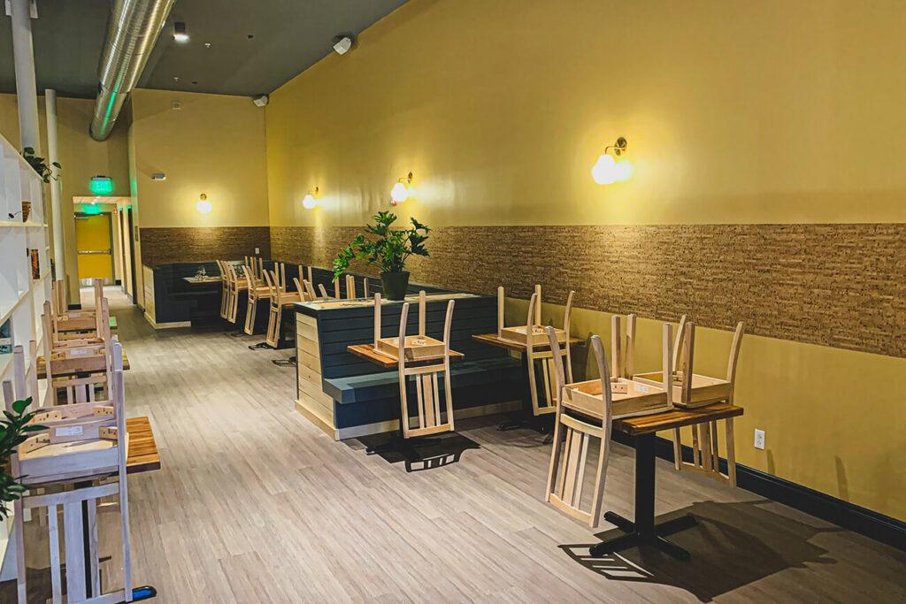 The Dining Area in Leeward