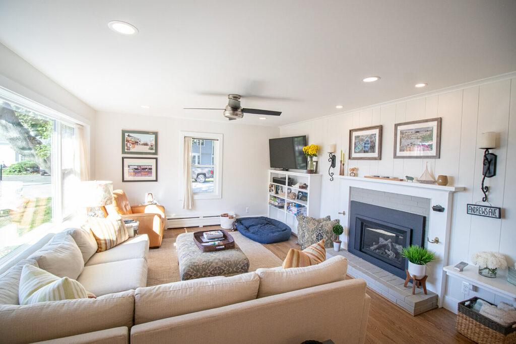 Inside a Living Room