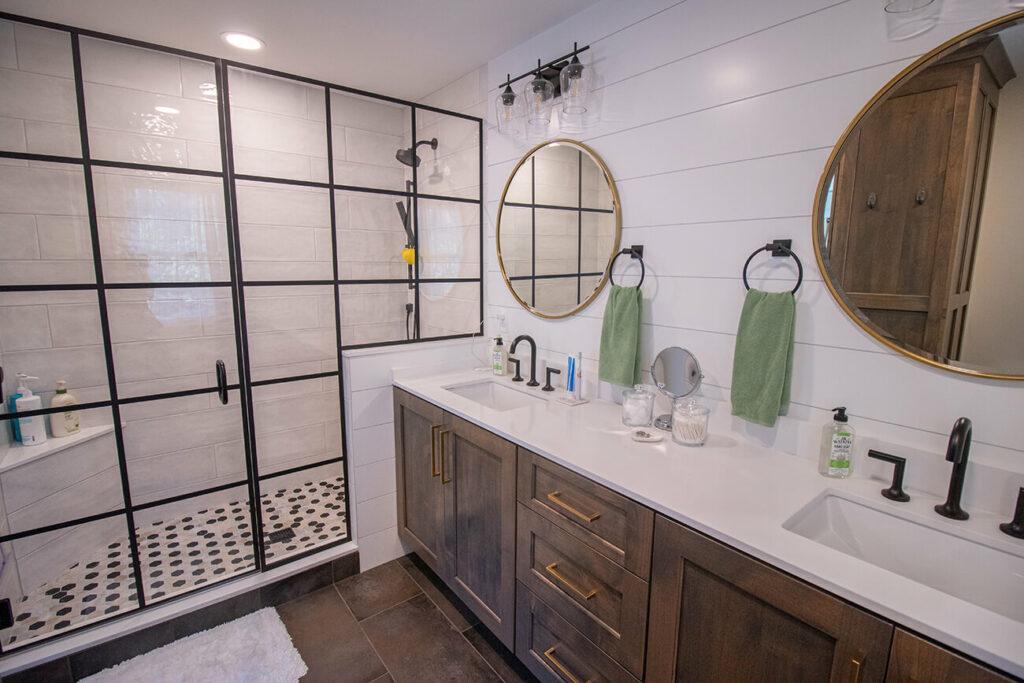 Inside a Bathroom